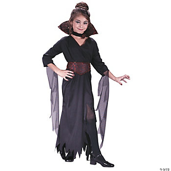 Rose Vampiress Girl's Costume