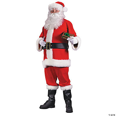 Santa Suit Economy Adult Men's Costume