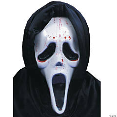 Scream Mask with Blood & Pump