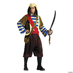 Seafaring Pirate Adult Men's Costume