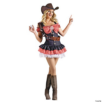 Shotgun Sheriff Adult Women's Costume