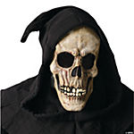Shroud Skull Mask With Closed Mouth