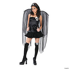 Skull Fairy Teen Girl's Costume