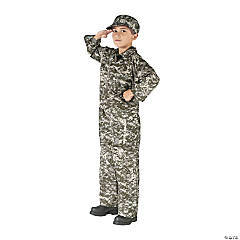 Boy's Soldier Costume