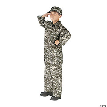 Soldier Boy's Costume
