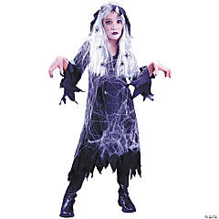 Spider Web Gauze Ghost Child's Costume
