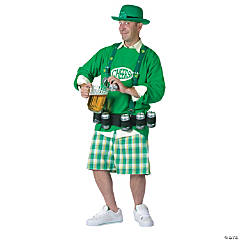 St. Pat Party Leprechaun Adult Men's Costume