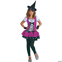 Sugar N Spice Witch Girl's Costume