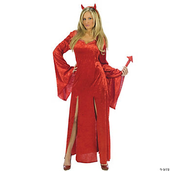 Sultry Devil Adult Women's Costume