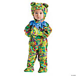 Tie Dye Bear Jumpsuit Costume