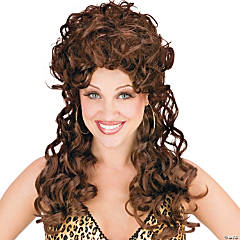 Trailer Park Trophy Wife Brown Wig