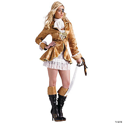 Treasure Chest Pirate Costume for Women