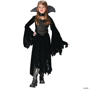 Velvet Vamp Child Girl's Costume