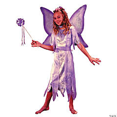 Watercolor Fairy Costume for Girls