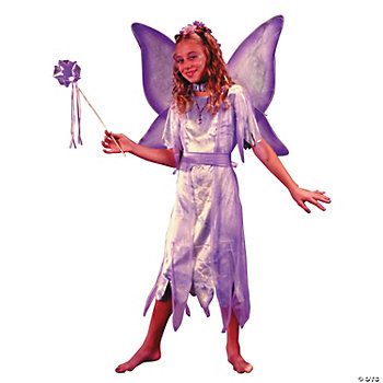 Watercolor Fairy Girl's Costume