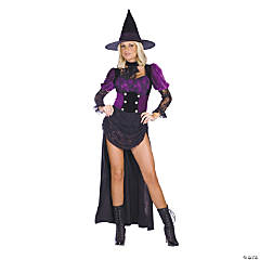 Witch Burlesque Adult Women's Costume