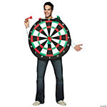 Bull's-eye Dart Board Adult Costume
