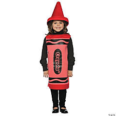 Crayola® Crayon Red Child's Costume