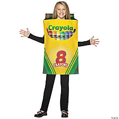 Crayola Crayon Box Kid's Costume