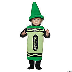 Crayola Infant Green Kid's Costume
