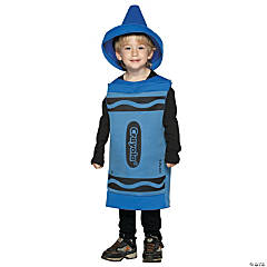 Crayola Toddler Blue Kid's Costume