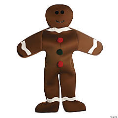 Gingerbread Man Adult's Costume