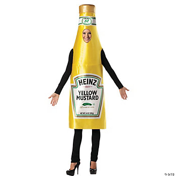 Heinz Mustard Bottle Adult's Costume