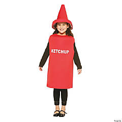 Ketchup Kid's Costume