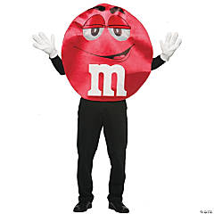 M&M's Red Deluxe Adult Costume