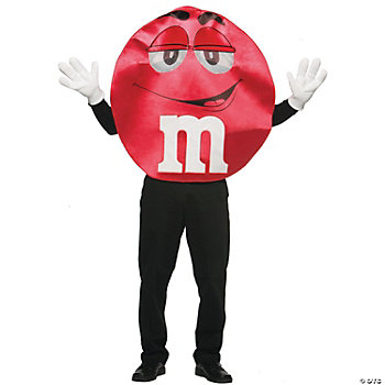 M&M's® Red Deluxe Adult's Costume