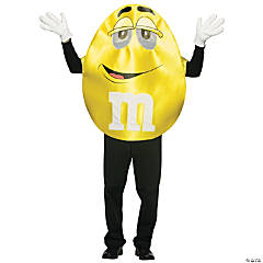 M&M's Yellow Deluxe Adult Costume