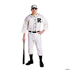 Old Tyme Baseball Player Adult Men's Costume