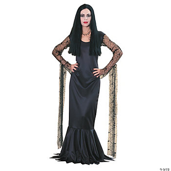 Addams Family Morticia Adult Women's Costume