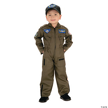 Air Force Fighter Pilot Boy's Costume