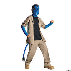Avatar Jake Sulley Deluxe Kid's Costume