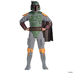 Boba Fett Deluxe Adult Men's Costume