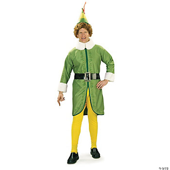 Buddy The Elf Adult Men's Costume. Choose this fun polyester Buddy The Elf ...