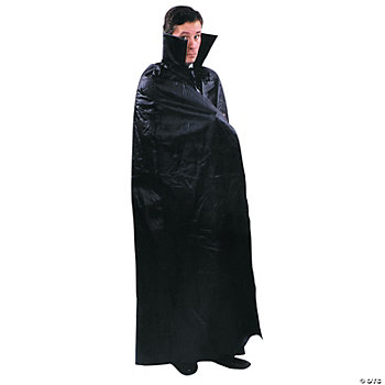 Floor Length Cape Black