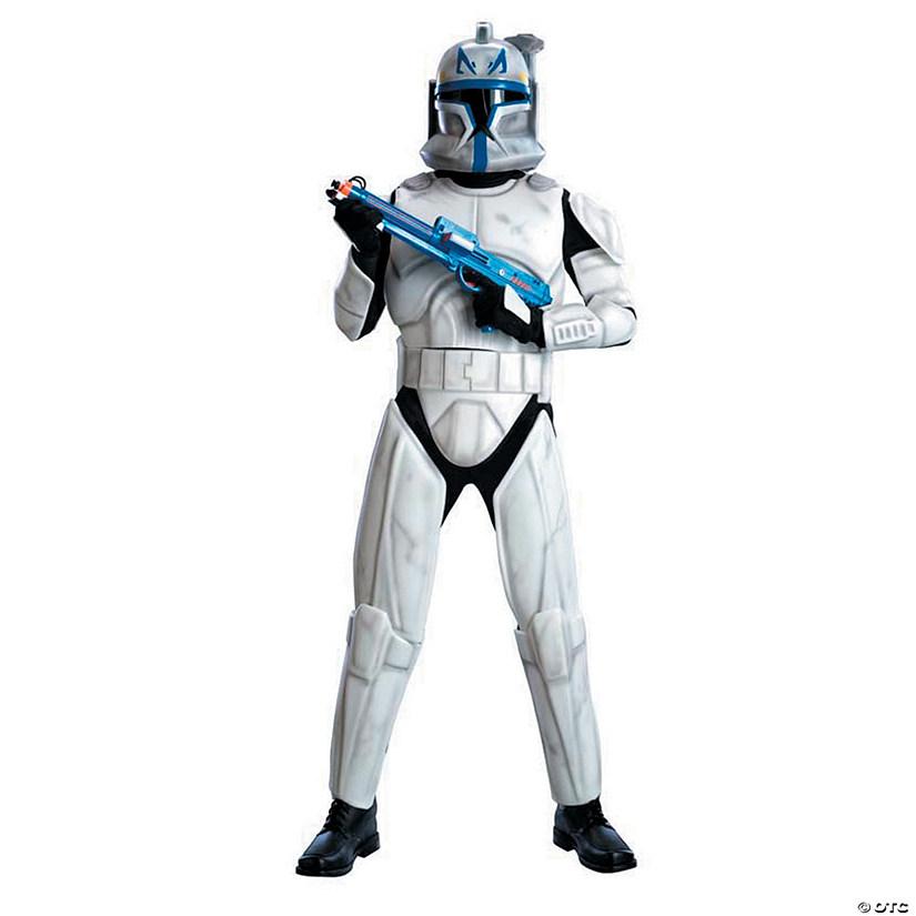 sc 1 st  Oriental Trading & Menu0027s Deluxe Star Wars™ Clone Trooper Rex Costume