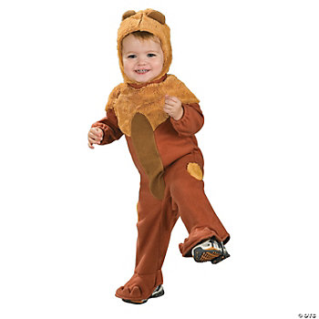 Cowardly Lion Boy's Costume