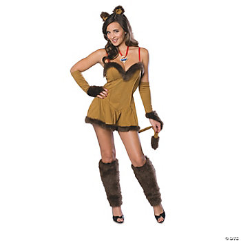 Cowardly Lioness Adult Women's Costume