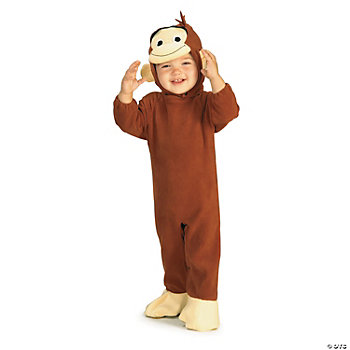 Curious George Toddler Boy's Costume