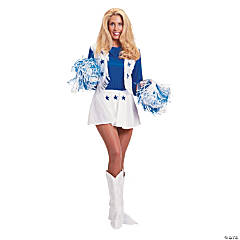 Dallas Cowboy Cheerleader Adult Women's Costume