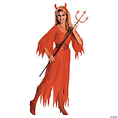 Devil Dress Adult Women's Costume
