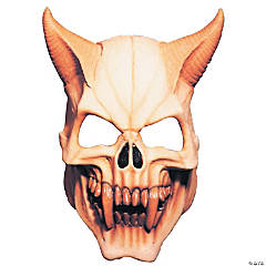 Red Devil Skull Mask
