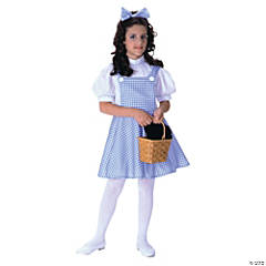 Girl's Deluxe Wizard of Oz Dorothy Costume