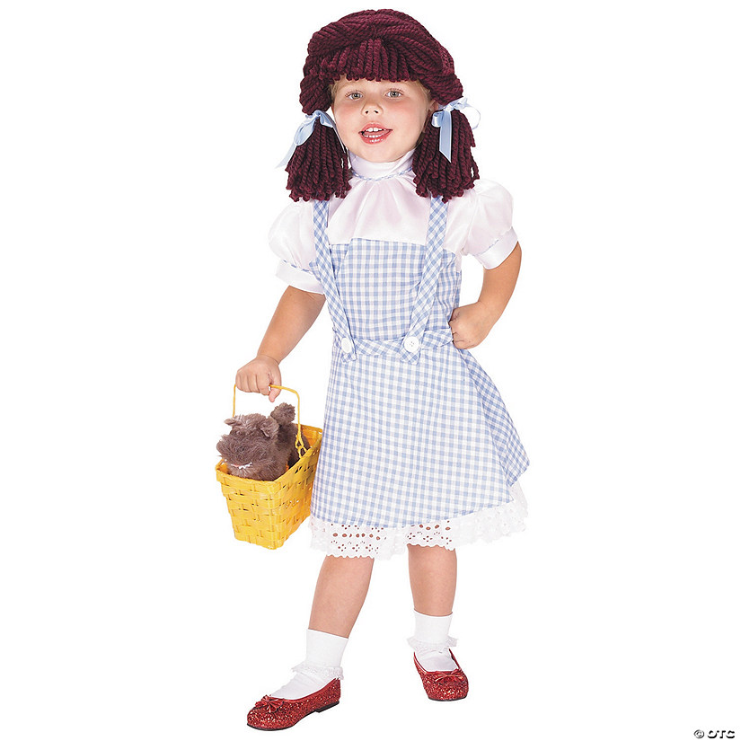 sc 1 st  Oriental Trading & Toddler Girlu0027s The Wizard of Oz™ Dorothy Yarn Babies Costume - 2T-4T