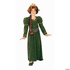 Shrek Princess Fiona Girl's Costume