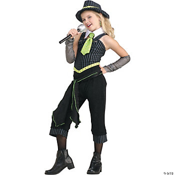 Gangster Moll Girl's Costume