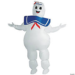 Stay Puft Marshmallow Man Ghostbusters Inflatable Adult Costume